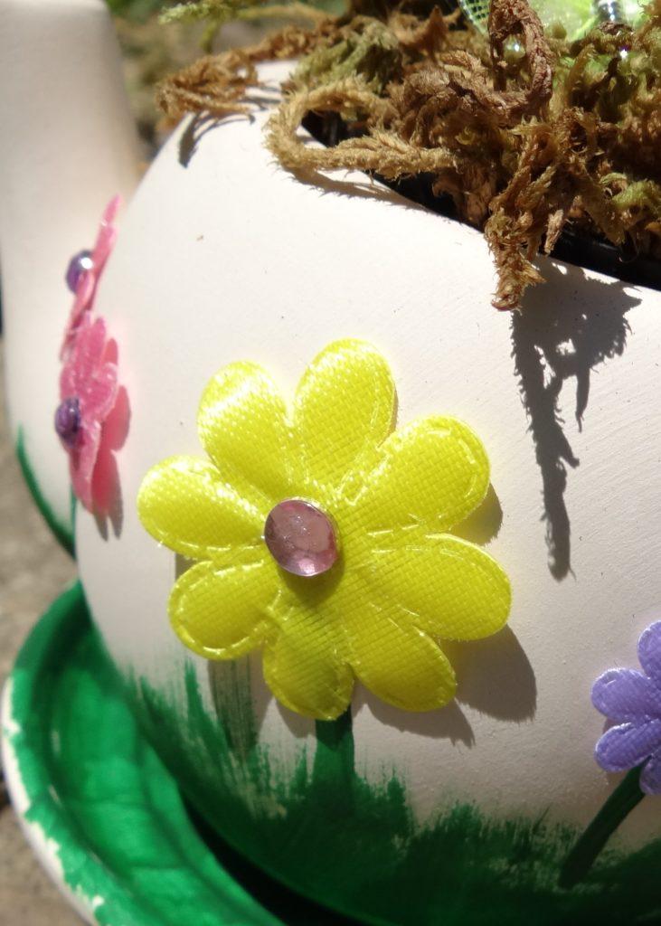 DIY Fairy Garden Tea Pot | Garden Party Ideas