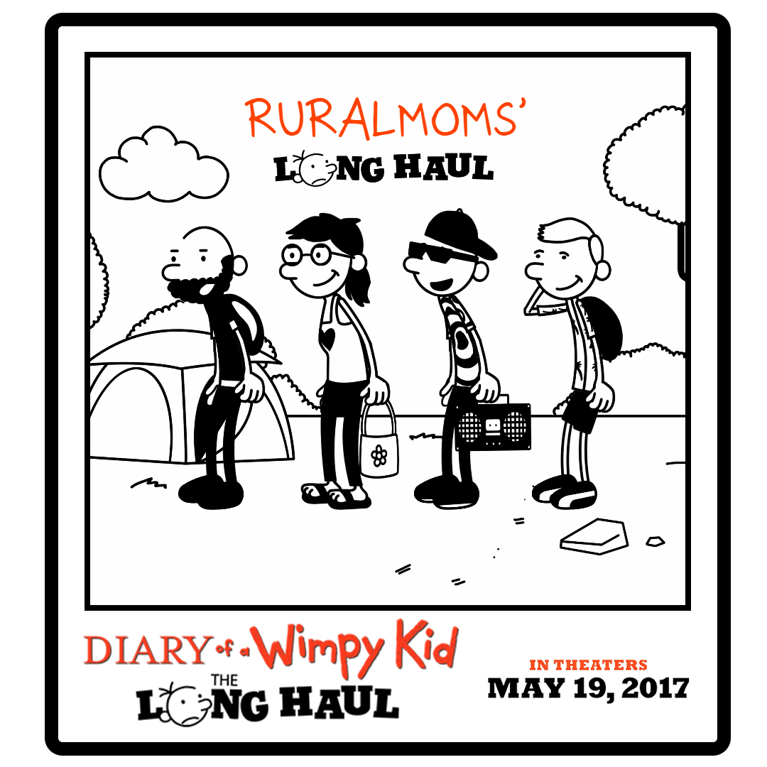 Wimp yourself diary of a wimpy kid the long haul giveaway rural mom my sons have always loved the diary of a wimpy kid book series and were so thrilled to see a new film coming to theaters this month diary of a wimpy solutioingenieria Image collections