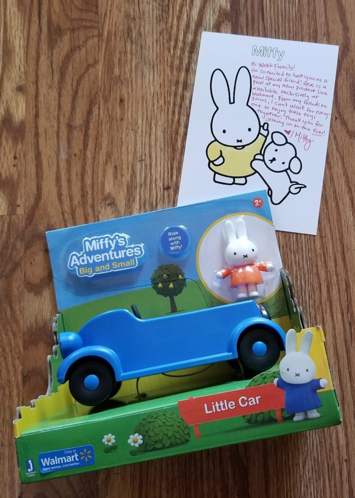 Celebrating new Miffy Toys at Walmart!