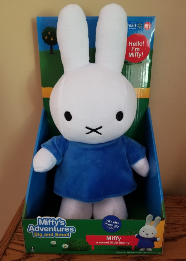 Celebrating new Miffy Toys at Walmart!