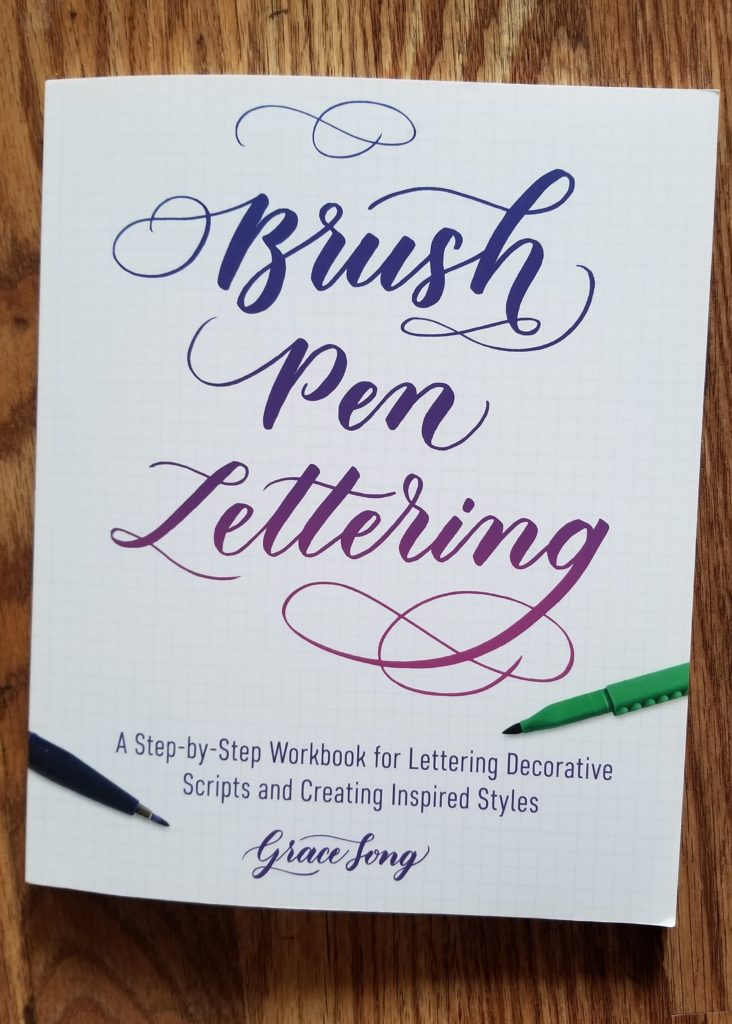 Brush Pen Lettering- The Art of Drawing Fancy Letters