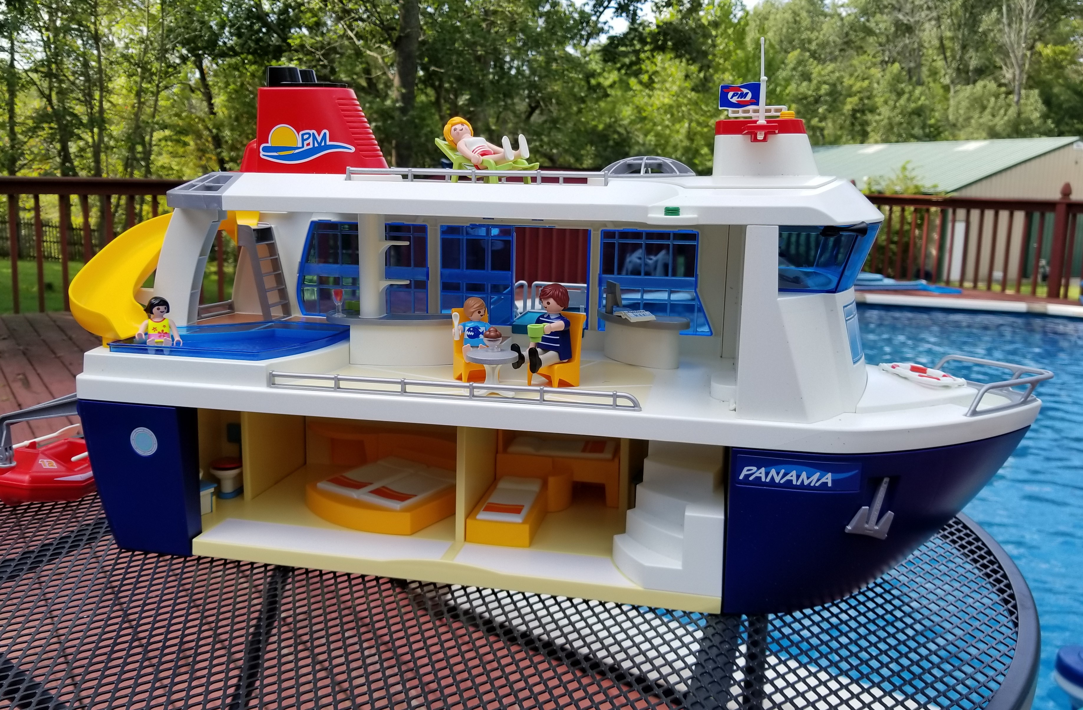 Setting Sail With The PLAYMOBIL Cruise Ship Rural Mom - Toy cruise ship