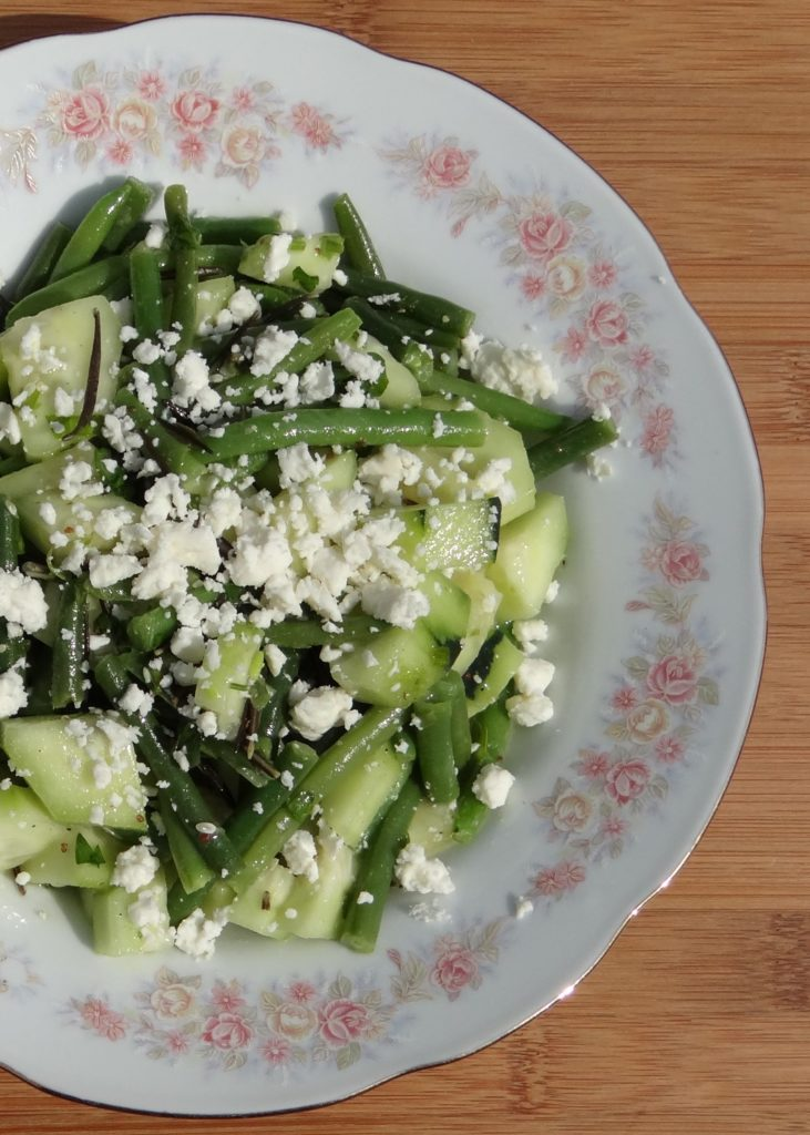 Cucumber and Green Bean Salad Recipe