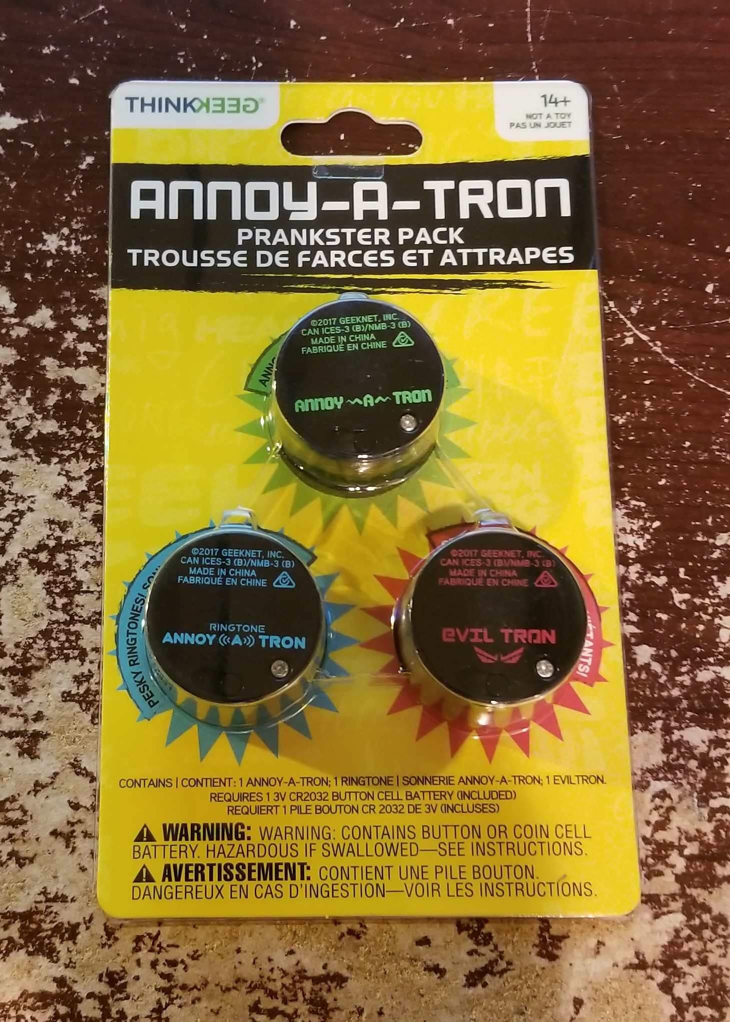 Holiday Fun in the palm of your hand: Annoy-A-Tron Prankster