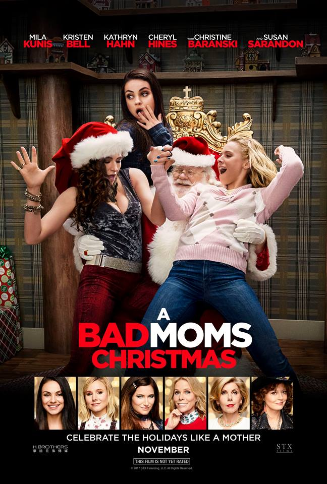 A Bad Moms Christmas chat with Mila Kunis, Kristen Bell and Kathryn Hahn