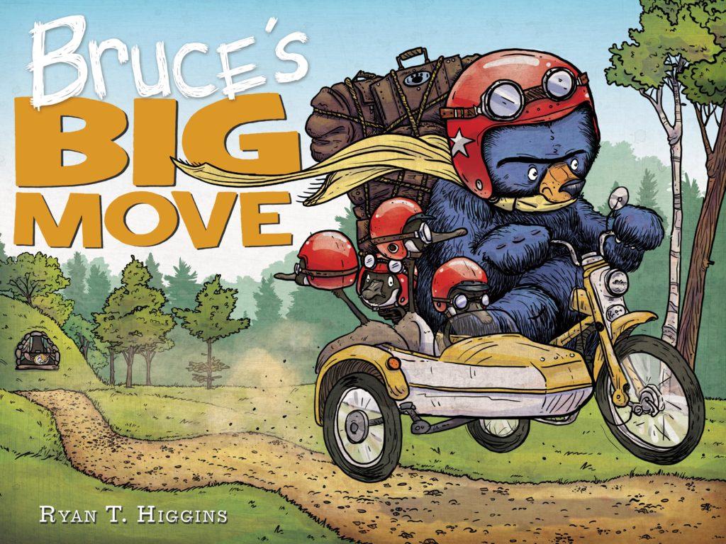Bruce's Big Move (Giveaway!)