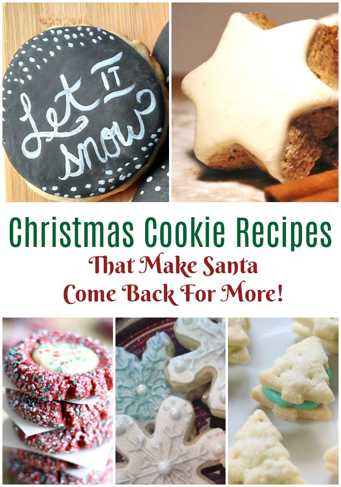 Best Cookies for Santa