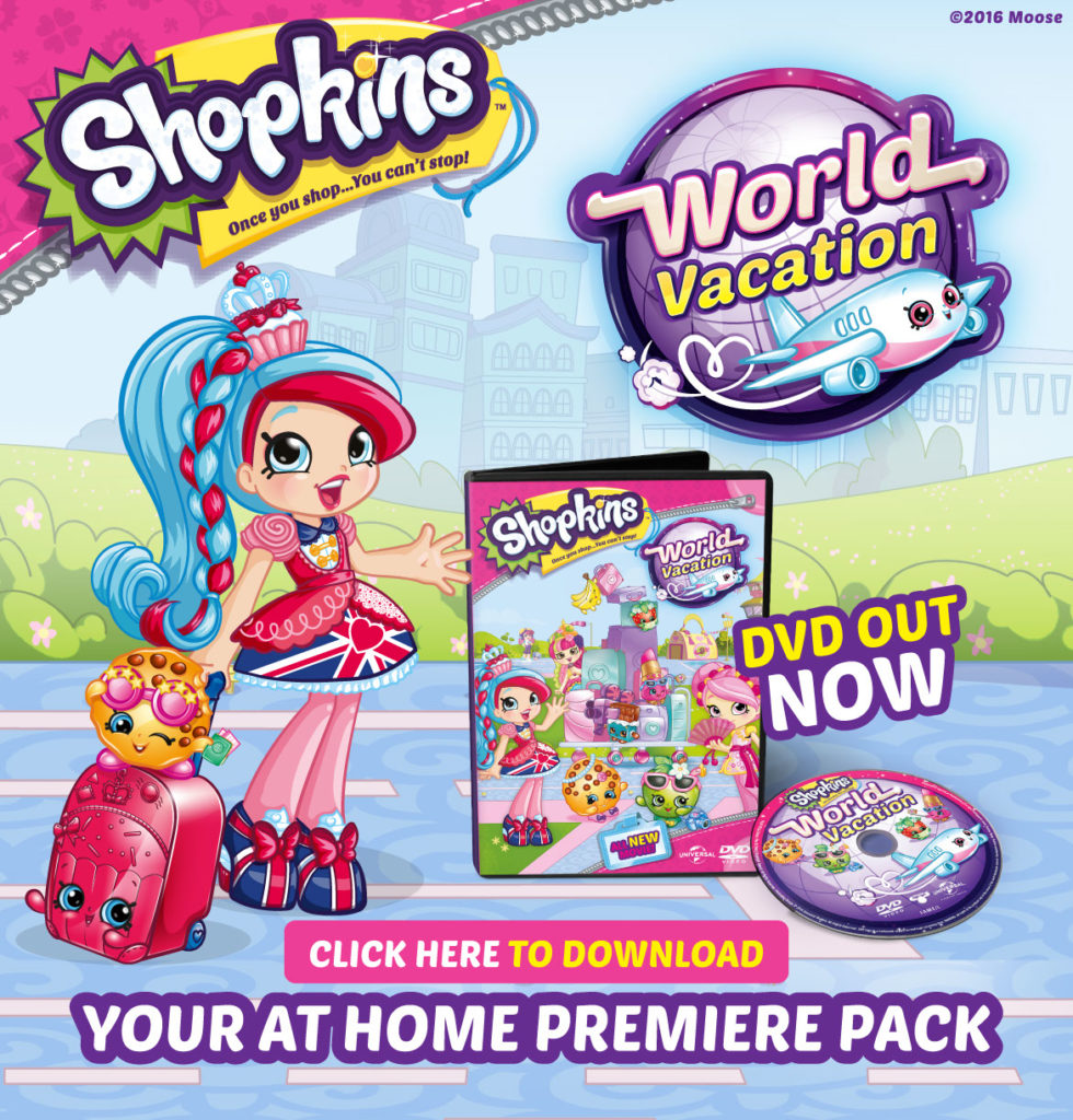 Shopkins: World Vacation Viewing Party Ideas