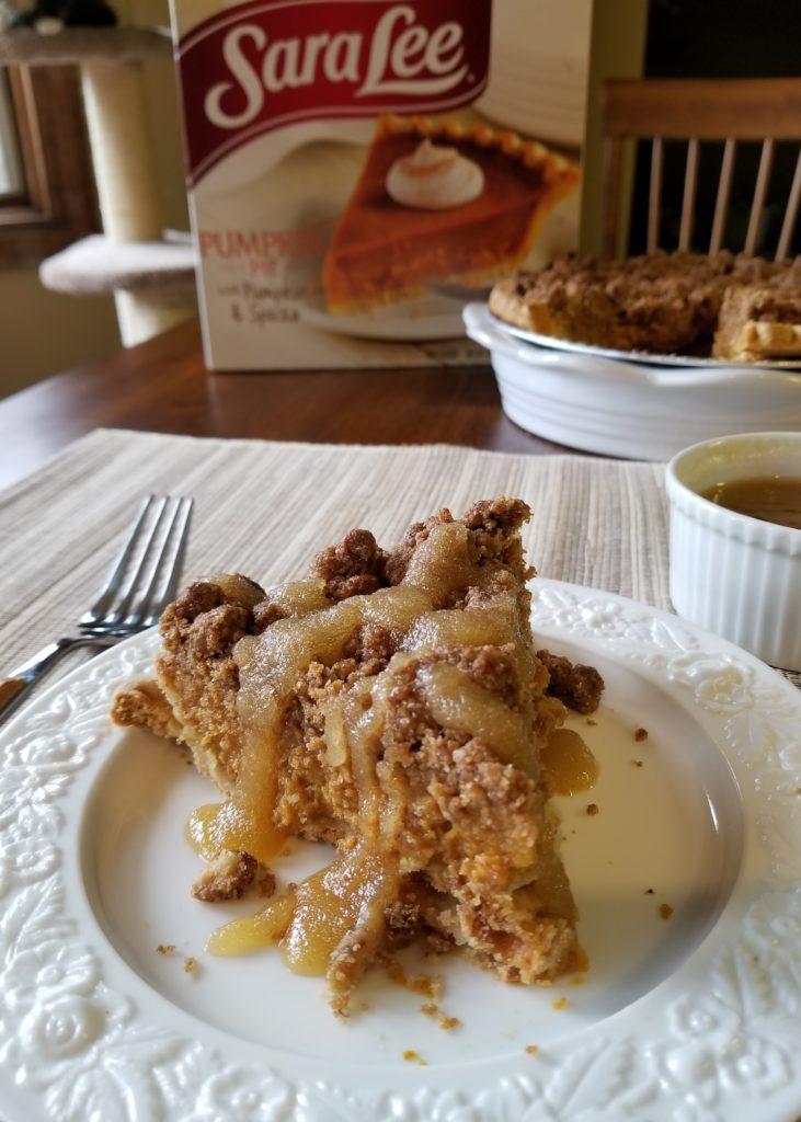 Gourmet Pumpkin Pie Hack: Black Walnut Crumb and Kentucky Bourbon Sugar Sauce