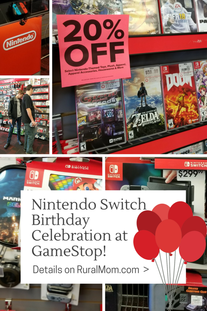Nintendo Switch Birthday Celebration (and a Giveaway!)