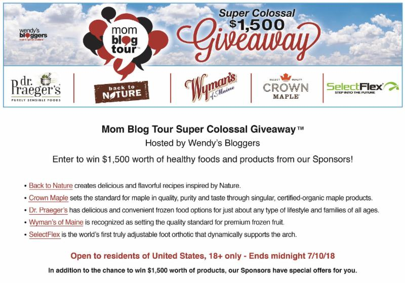 Mom Blog Tour Super Colossal Giveaway