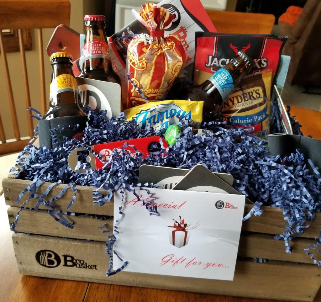 Wondering what to gift dad this Father's Day? Check out The BroBasket