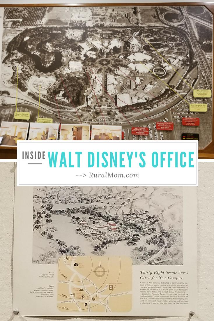 Step Inside Walt Disney's Office