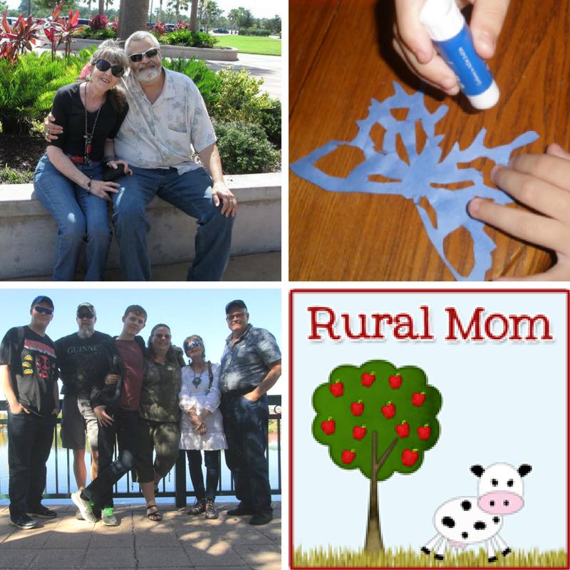 Rural Mom Family Photos