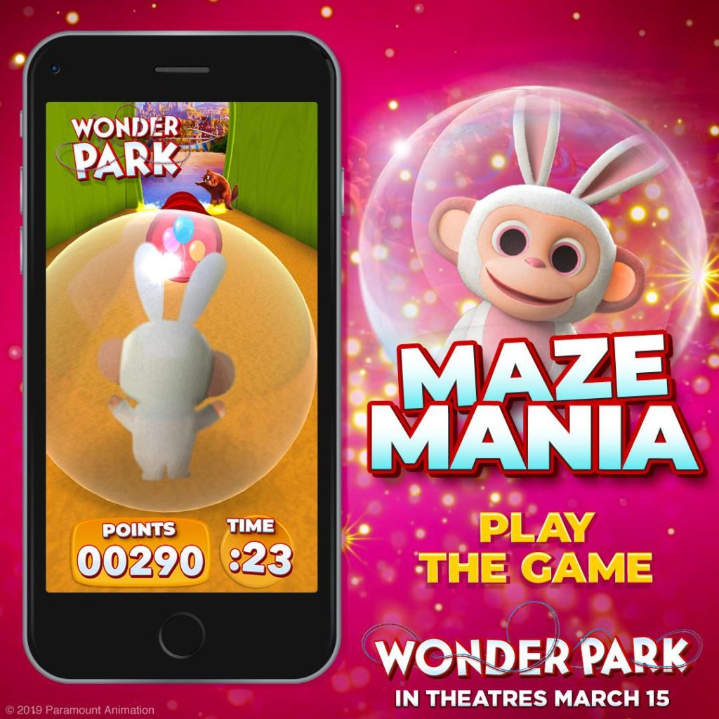 Wonder Park Maze Mania