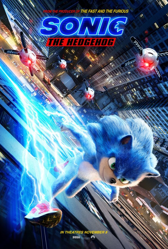 Sonic The Hedgehog speeds into theaters this November!