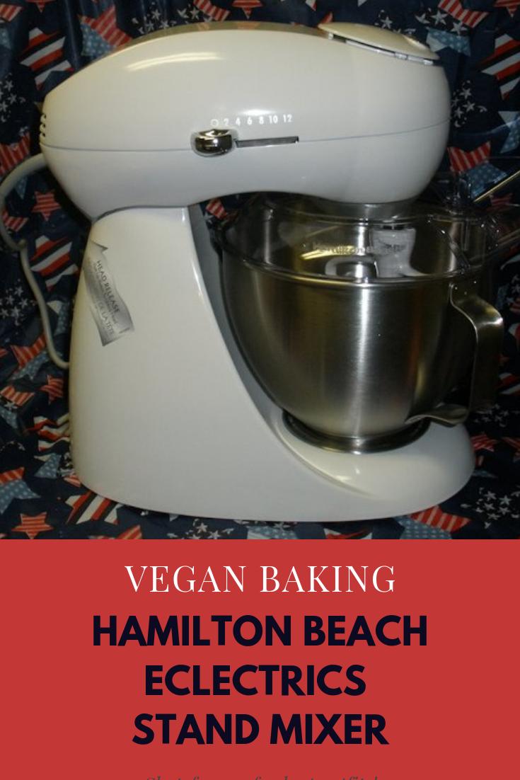 Hamilton Beach Eclecrics Stand Mixer