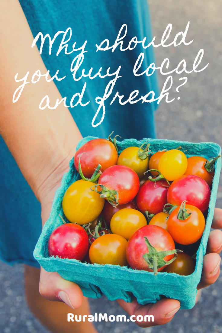 Why should you buy local and fresh?