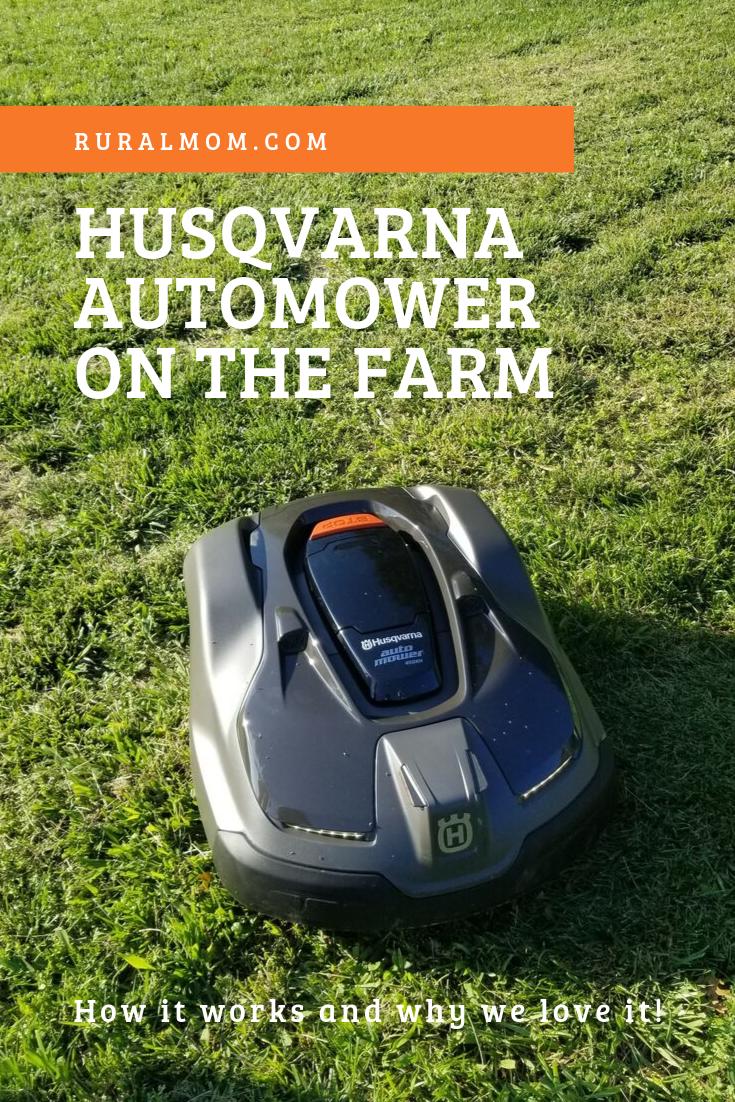 Husqvarna Automower on the Farm