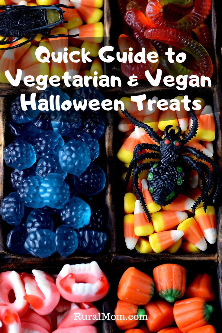 Quick Guide to Vegetarian and Vegan Halloween Treats