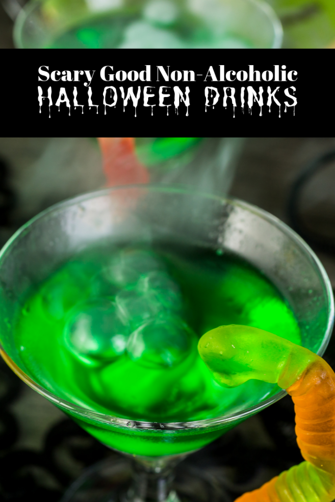 Scary Good Non-Alcoholic Drinks for Halloween