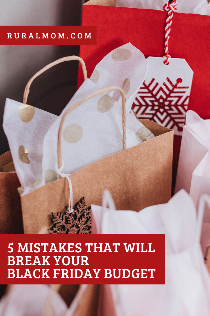 Five Mistakes That Will Break Your Black Friday Budget