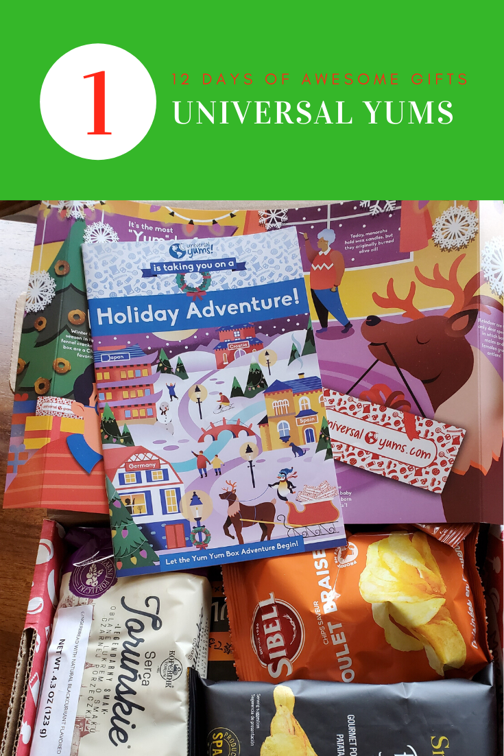 12 Days of Awesome Gift Giving - Universal Yums