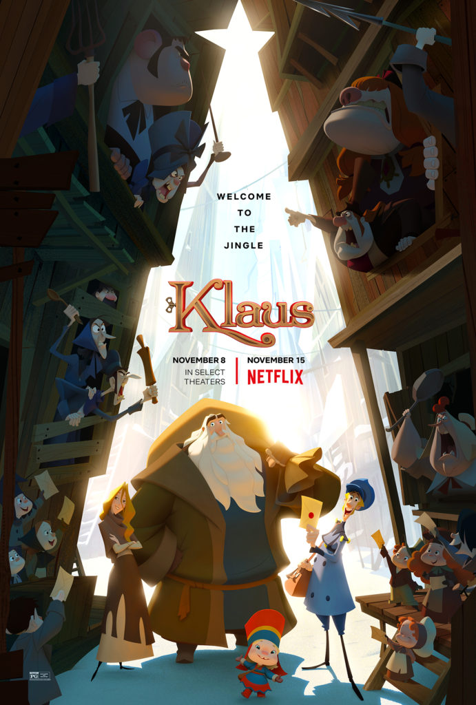 One Act of Kindness Sparks Another in KLAUS (+ a Giveaway!)