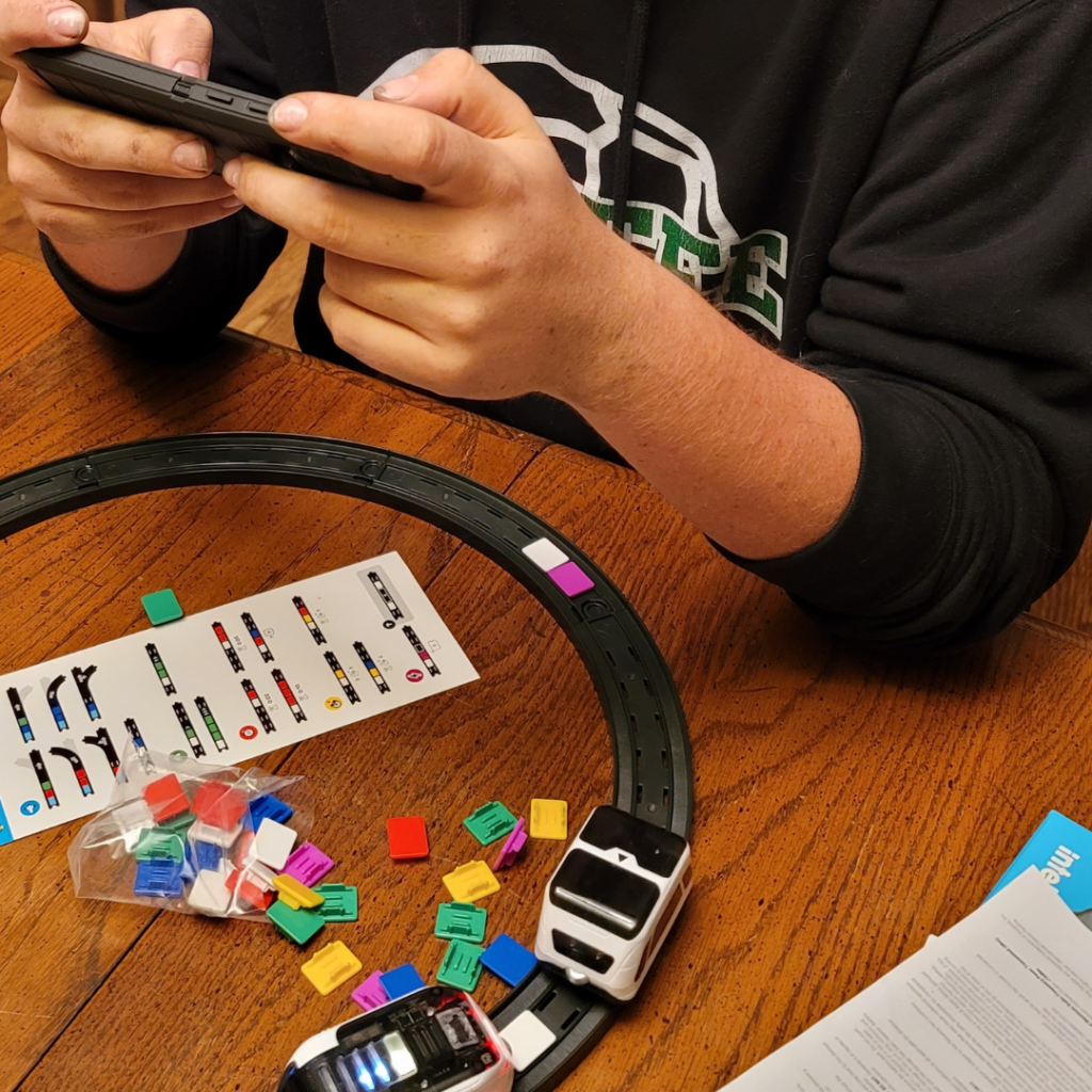 Learn the Basics of Coding with the intelino Smart Train