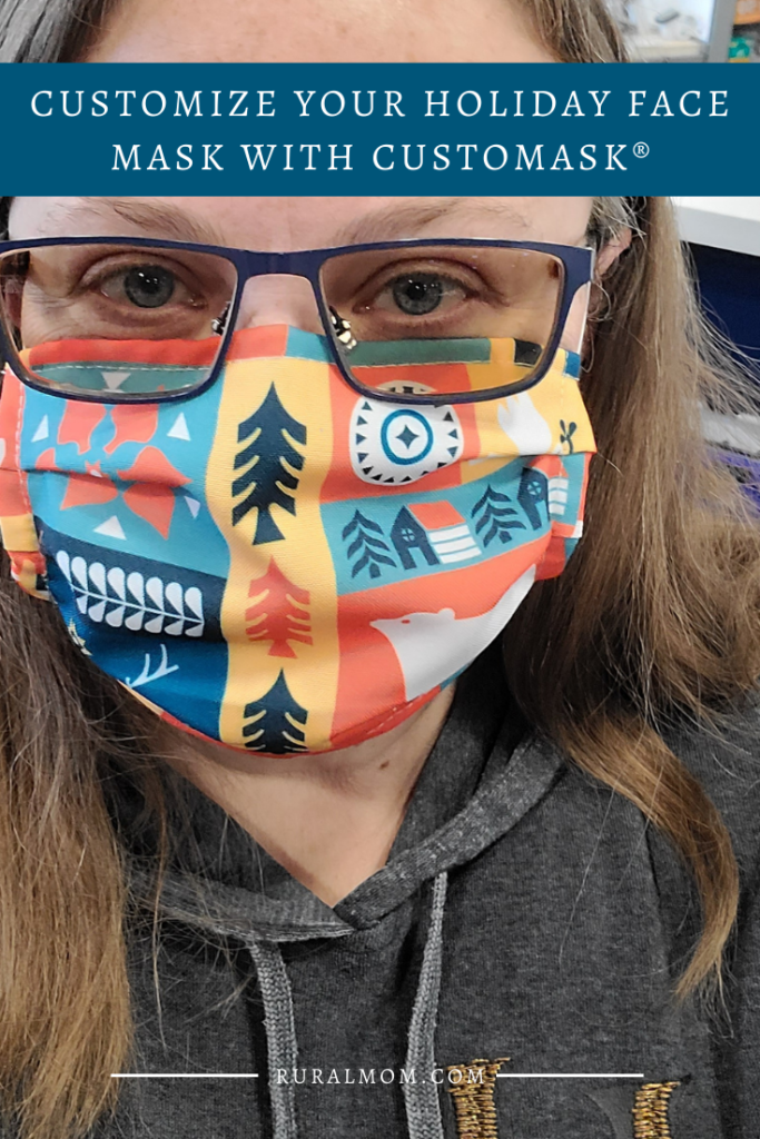 Customize Your Holiday Face Mask with CUSTOMASK®