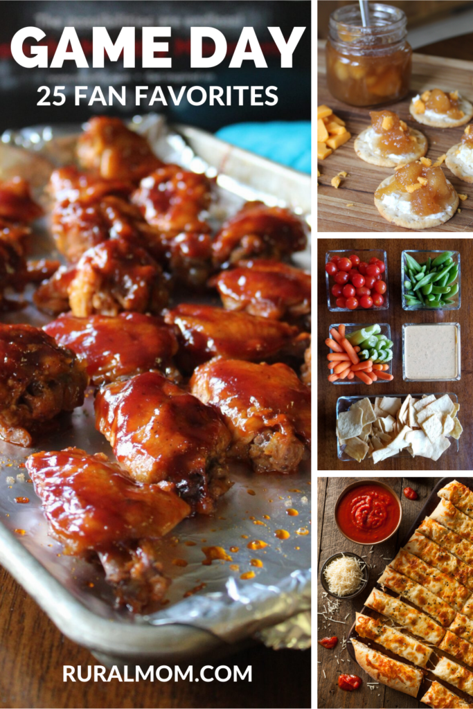 25 Great Game Day Football Food Recipes