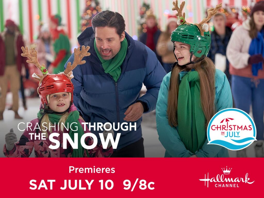 """Celebrate Christmas in July with Hallmark Channel's Original Premiere of """"Crashing Through the Snow"""""""