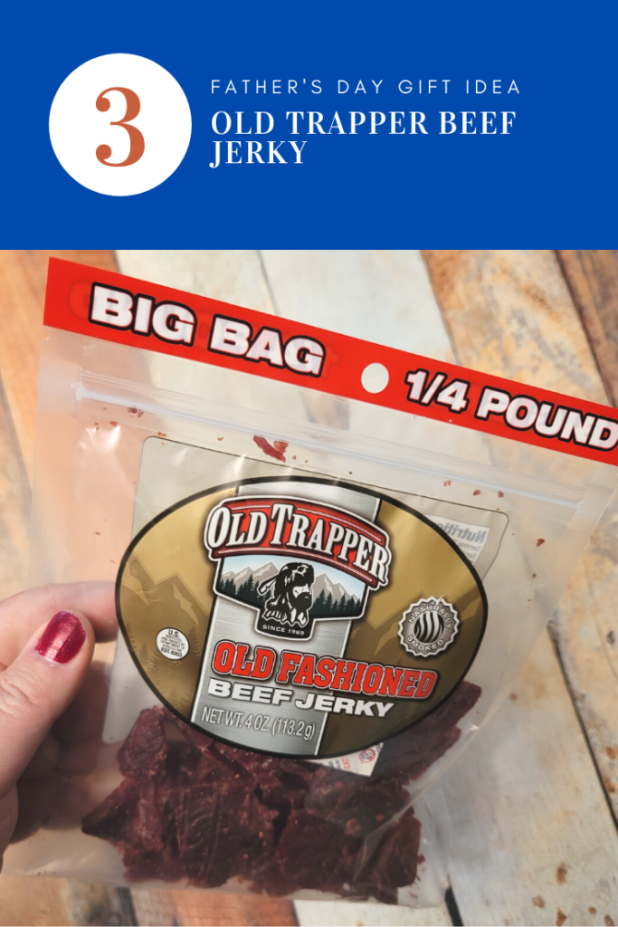 For the dad who loves the great outdoors… OLD TRAPPER SMOKED SNACKS