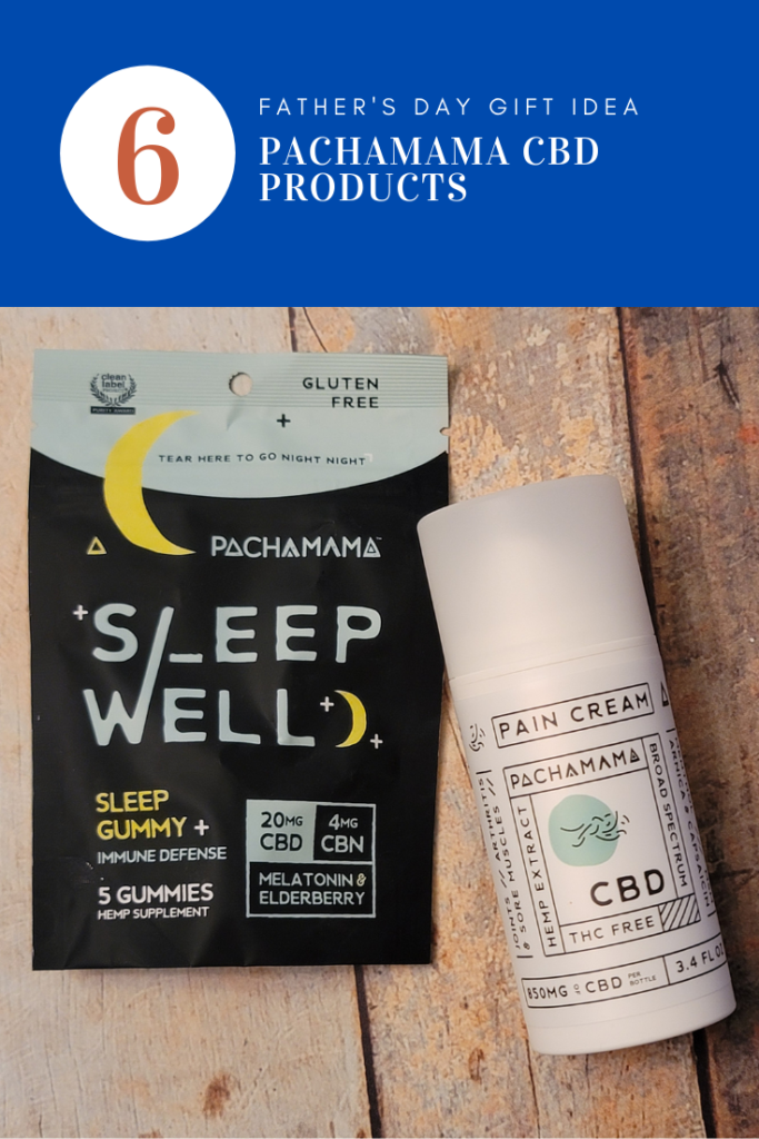 For the dad who needs to mellow out a bit… PACHAMAMA CBD PRODUCTS