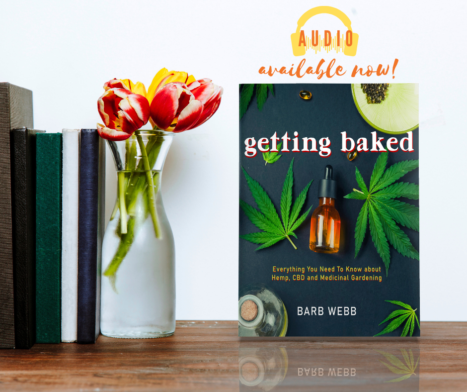 GETTING BAKED is now available on audio!