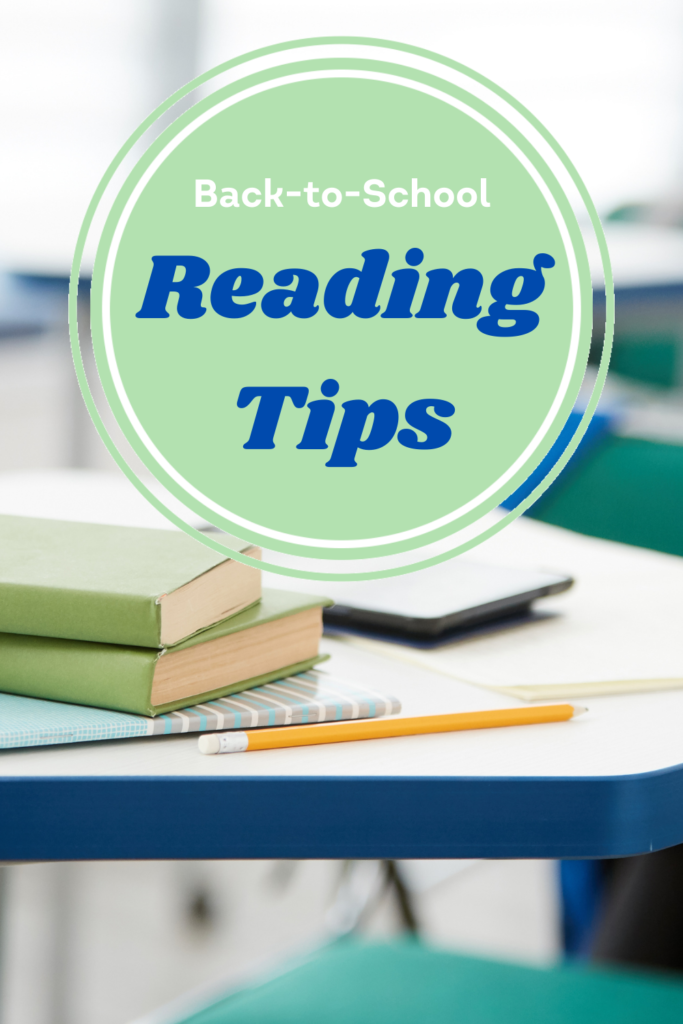 Back-To-School Reading Tips