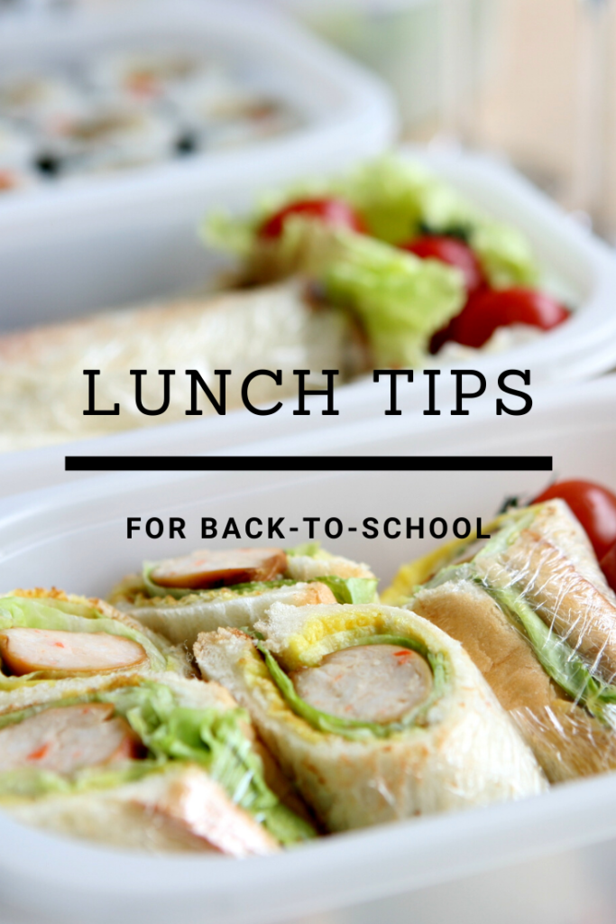 Lunch Tips for Back-To-School